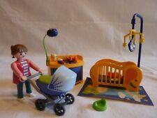 PLAYMOBIL accessoires personnage maison ville meuble mobilier la chambre de bébé