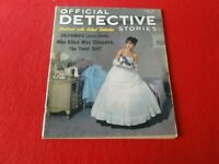 Vintage Official Detective Stories Magazine October 1962                      SS