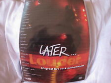 Later... Louder  Jools Holland  DVD 30 great live rock performances BRAND NEW