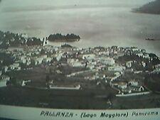 postcard unused old rp pallanza laga maggiore panorama
