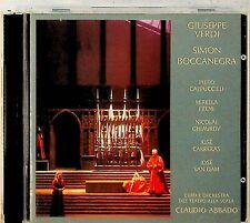 VERDI: Simon Boccanegra-1973 -2-CD -Claudio Abbado RARE (Freni/Carreras)