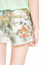 Zara Cotton Floral Shorts for Women