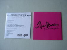 THE VON BONDIES job lot of 2 promo CD singles It Came From Japan