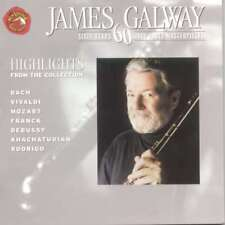 Good: JAMES GALWAY - Sixty Years 60 Flute Masterpieces CD