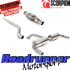 Scorpion Clio RS 200 Sistema de Escape de Acero Gato posterior nonres y Deportes Cat 10-13