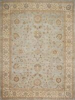 Traditional Hand Knotted Modern Chobi Area Rug Grey/Beige Area Rugs (9 x 12)