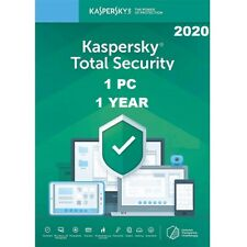 Kaspersky Total Security 2020 1PC  - 1Year   Antivirus