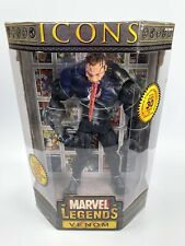 "Marvel Legends Icons Venom 12"" Unmasked Variant Figure (Sealed with Comic Book)"