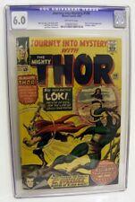 Marvel Comics CGC 6.0 THOR 108 Loki appears JOURNEY MYSTERY Avengers dr strange