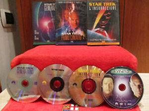 "DVD - STAR TREK The Next Generation ""4 dvd"" (PARAMOUNT) 1994-1996-1998-2002"