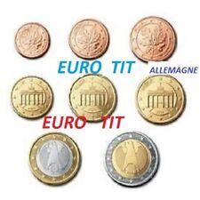 SERIE  8  PIECES   ALLEMAGNE   2011  /    48 000  EX    /    2011     disponible