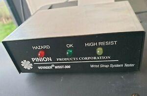 PINION VOYAGER WSST-300 WRIST STRAP SYSTEM TESTER (R5TROLLEY.5B1)