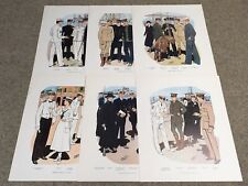 Uniforms of The Us Navy 1776-1898 & 1900-1967, 24 Prints, 20x16, Naval History