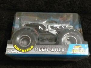 New 2018 Monster Jam Truck MEGA WREX Black Grey Tyrannosaurus Giant Wheels Rex