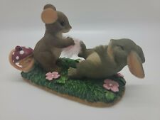 Charming Tails 'Tickled Pink' 89/137 box included (worn)