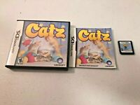 Catz (Nintendo DS/2DS/3DS, 2006) - CARTRIDGE, CASE, & PAPERWORK (TESTED)