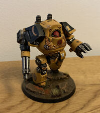 Warhammer 40K - Space Marines - Imperial Fists - Contemptor Dreadnought