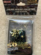 Yu-Gi-Oh Card Sleeves Official Konami - Golden Duelist Collection sleeves