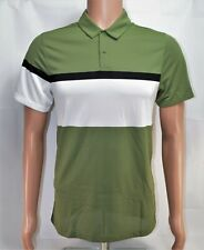Nike Golf Standard Dri Fit Green White Polo Shirt Sz Small S New 833103 387 Rare