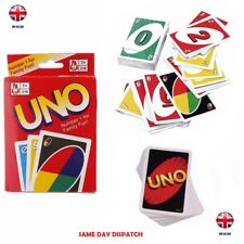 2x Fun UNO Card Game 108 Playing Cards Indoor Family Children Friends Party Gift Instruction Book