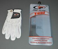 1 New Ladies TopFlite FEEL Golf Glove - size Medium/Large for LH golfer