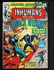 Amazing Adventures #8~Inhumans/Adams last Black Widow/last 15cent ~1971 (5.0) Wh