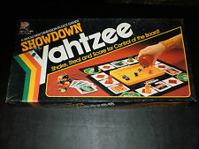SHOWDOWN YAHTZEE MILTON BRADLEY 1991 CONTENTS ARE IN EXCELLENT CONDITION!