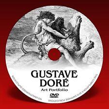 GUSTAVE DORÉ ART PORTFOLIO - Over 1,600 illustrations on DVD!