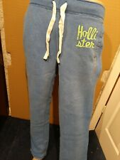 BNWT Nuevo Para Hombre Hollister Classic Sweatpants Denim Azul Medio