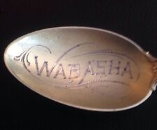 Vintage Sterling Silver Wabansia Spoon SS6618