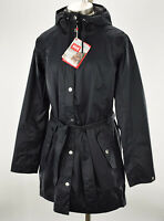 HELLY HANSEN Womens Black LYNESS Breathable Windproof Hooded Rain Coat LARGE NWT
