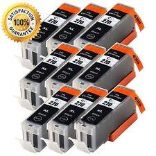 9PK PGI-270XL Black Ink Cartridges for Canon PIXMA TS5020 TS6020 TS8020 MG6822