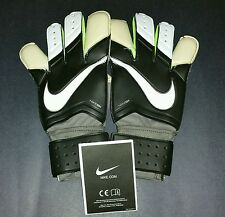 Nike Gk Grip 3, Black/White, Size 8