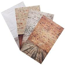 3*5ft Photography Background Studio Photo Props Thin Backdrop Wood Grain Brick