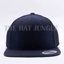 size 40 7d160 4c0b5 Yupoong Snapback Hat Plain 6089M Premium Classic Flexfit Baseball Cap Green  Camo