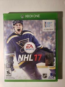 NHL 17 (Microsoft Xbox One, 2016) - Used, Tested Fine