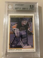 1990-91 OPC Premier #51 Curtis Joseph RC BGS 8.5 NM-MT+ (8.5, 9.5, 9, 8.5)