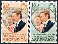 Ascension 1973 Royal Wedding MNH Set #R612