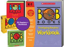 Bob Books Developing Readers Workbook + Bob Books Set 3,4,5 by Lynn M Kertell