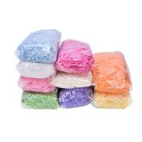 100g Colored Shredded Tissue Paper Bags Hamper Basket Paper Filler Packing ZY