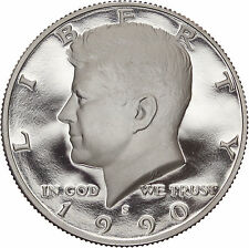 1990-S Cameo Proof Kennedy Half Dollar