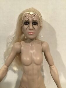 NUDE DC WW84 ARTICULATED KRISTEN WIG BATTLE READY CHEETAH DOLL FOR OOAK NEW OUT