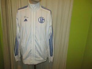 FC Schalke 04 Original Adidas Freizeit- Trainingsanzug Jacke 2011/12 Gr.M TOP