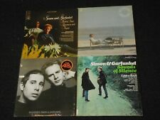SIMON & GARFUNKEL 4 Record LP Lot SOUNDS OF SILENCE Bookends PARSLEY SAGE + Art