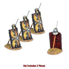 ROM170c Imperial Roman Shield w/Pilum & Helmet Legio II Augusta by First Legion