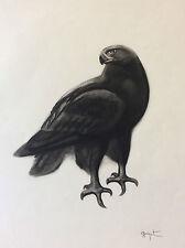 Aigle royal estampe animalière qualité signée Georges Lucien Guyot (1885-1973)