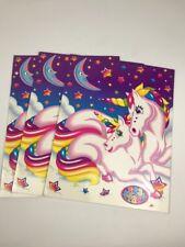 Lisa Frank School Folders ~ Rainbow Unicorns 2001 ~ School Paper Folders