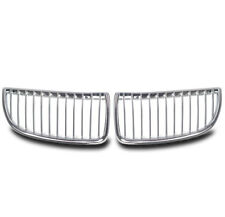 2006-2008 BMW E90 3 SERIES SEDAN 4-DR FRONT CHROME KIDNEY GRILLE 328I 330I 335I