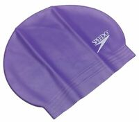 Speedo Latex Swim Cap - Purple
