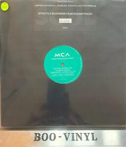 """THE STRICTLY BUSINESS FILM SOUNDTRACK SAMPLER PROMO 12"""" Funk Soul Reggae Vinyl"""